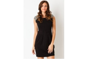 Voerin Adore Hitam Mini Dress