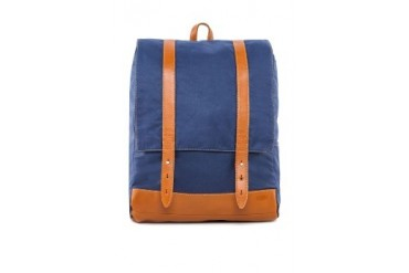 Levi's Canvas Leather Backpack Bag