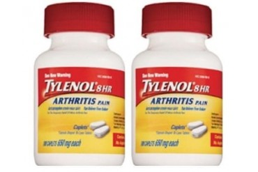 Tylenol 8 Hour Arthritis Pain 2 Bottle Pack 100 Caplets Each Bottle