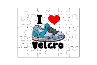 i heart velcro.jpg Funny Puzzle by CafePress