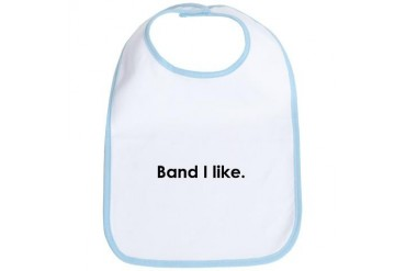 band.PNG Funny Bib by CafePress