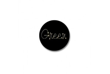 Green Spark Green Mini Button by CafePress