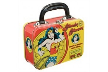 DC Comics Wonder Woman Battle of Doom Tin Tote Lunch Box
