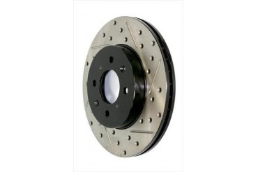Power Slot Sportstop Drilled and Slotted Brake Rotor 127.34098R Disc Brake Rotors