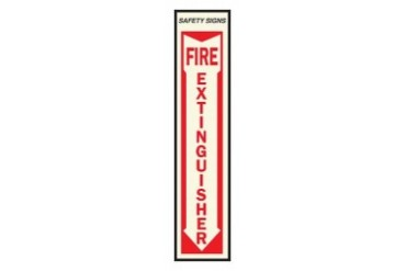 10 Pack Hy-Ko Fe-1 Self Adhesive Safety Sign