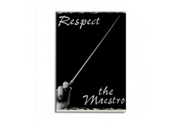 Maestro Magnet Music Rectangle Magnet by CafePress