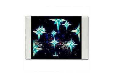 Twinkle Twinkle Christmas Rectangle Magnet by CafePress