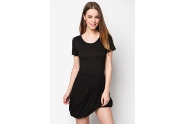 Twist Hem Dress