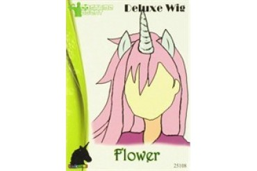 Flower Deluxe Unicorn Pony Wig