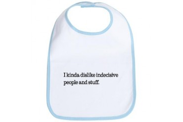 indec.jpg Funny Bib by CafePress