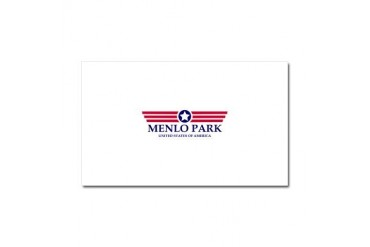 Menlo Park Pride California Car Magnet 20 x 12 by CafePress