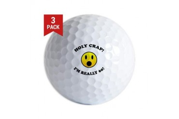 Holy Crap I'm 60! Golf Balls