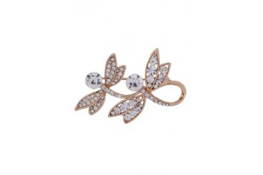 eslystyle.com Double Dragonfly Brooch