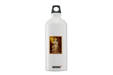 Golden Angel Baby Sigg Water Bottle 0.6L by CafePress