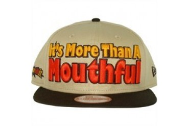 Hershey's Whatchamacallit Bar It's More Than a Mouthful Slogan 9Fifty Embroidered Sized Snapback Hat