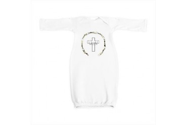 3-fishers of men gold.png Religion Baby Gown by CafePress