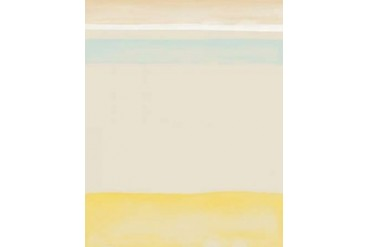 Blue and Yellow Watercolor Poster Print by Amy Cummings (24 x 30)
