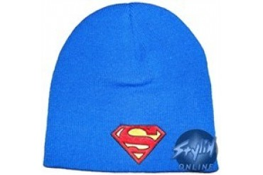 DC Comics Superman Royal Blue Embroidered Beanie