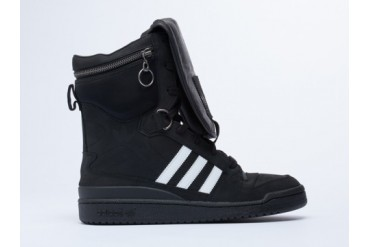 Adidas Originals X Jeremy Scott Tall Boy Mens in Black White Black size 9.0