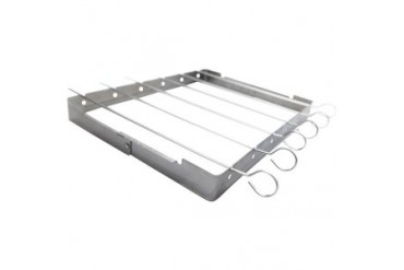 Onward Manufacturing 41338 Grillpro Kabob Grill Rack With Skewer