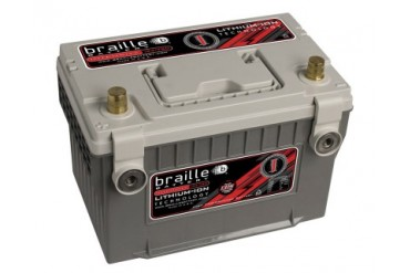 Braille Lithium Ion Intensity Deep Cycle Battery 1315 Amp 11 x 7 x 8 inch Left Positive BCI 3478