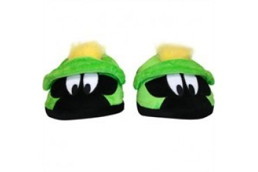 Looney Tunes Marvin the Martian Plush Head Slippers