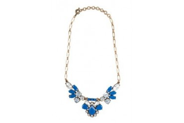 Dipped Row Petal Collar Necklace