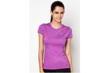 Nike Miler Running Short Sleeve Crew Top
