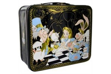 Disney Alice in Wonderland Tea Party Metal Lunch Box
