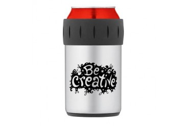 Thermos Can Cooler Music Thermosreg; Can Cooler by CafePress