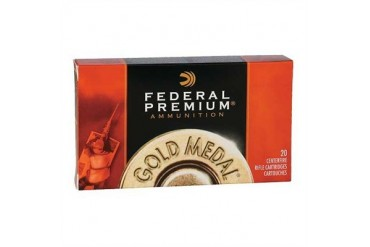 Federal Gold Medal Match Ammunition - Federal Ammo 300 Mag 190gr Sra Hpbt Goldmedal 20/Bx