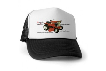 w/ Landlord 101 Tractors Trucker Hat by CafePress