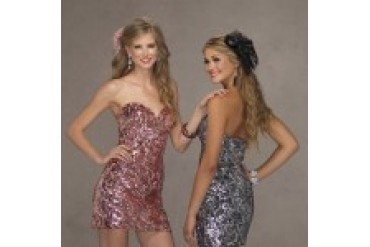"Fame ""In Stock"" Pink Dress - Style 9815"