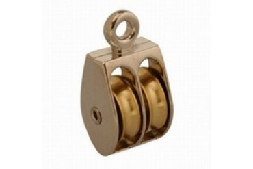 10 Pack Campbell Chain T7655212 Rope Pulley Rigid Sngl Ni 1In