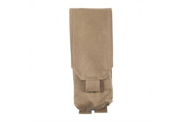 M4/M16 Single Magazine Pouch Holds 2 - M4/M16 Single Magazine Pouch Coyote