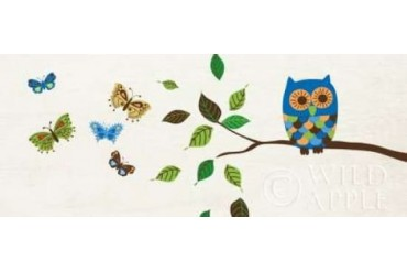 Good Morning Owl Poster Print by Wild Apple Portfolio (24 x 48)