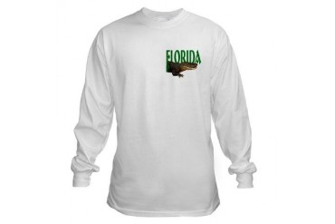 Florida Alligator Travel Long Sleeve T-Shirt by CafePress