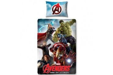 Marvel Avengers Age of Ultron Single Duvet Cover Set