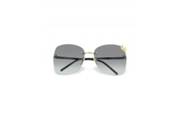 Flora - Butterfly Rimless Sunglasses