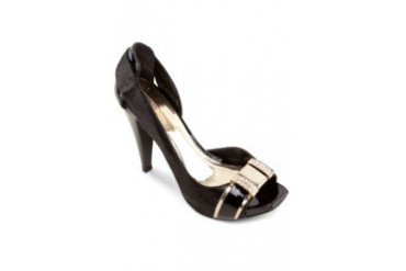 Satryani by Shoeville Peep Toe Heels