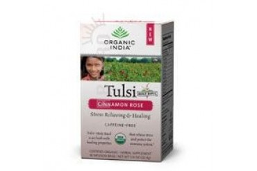 Tulsi Tea Cinnamon Rose 18 bags