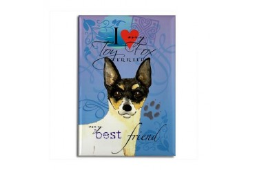 Toy Fox Terrier Cute Rectangle Magnet by CafePress