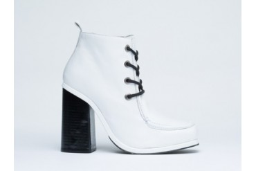 Opening Ceremony Sylvie Clog Bootie in Bone White size 10.0