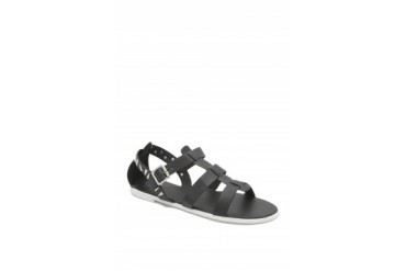 Womens La Hearts Shoes - La Hearts Ankle 3 Strap Metal Sandals