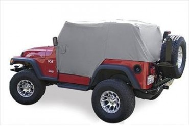 Vertically Driven Products Full Monty Cab Cover in Gray 501162 Cab Top Cover