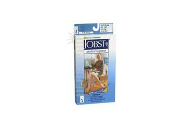 Jobst Opaque Compression Stockings 15-20 Closed Toe Knee Highs Silky Beige Small each