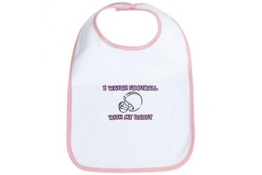 Football Daddy Family Bib by CafePress