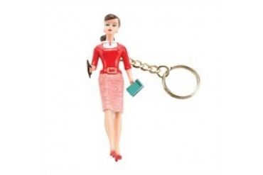 Barbie Teacher Career Replica Resin Keychain
