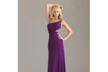 "Night Moves ""In Stock"" Prom Dress - Style 6437"