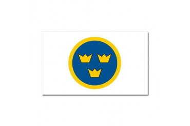 SwAF roundel Air force Car Magnet 20 x 12 by CafePress